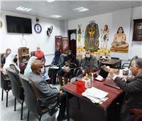 «تعليم أسوان» تستعرض سبل تنفيذمبادرة «معلم متكامل مبدع»