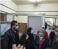 لجنة مشكلة لفحص الهبوط الأرضي بوحدة الغسيل الكلوي بمستشفى السنطة المركزي
