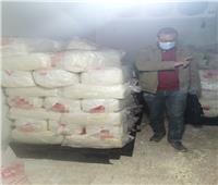 ضبط 690 كيلو جرام «خثرة ألبان» منتهية الصلاحية في بني سويف