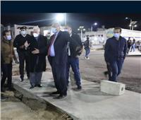 محافظ جنوب سيناء يتفقد الإضاءة وأعمال تطوير هضبة «أم السيد»