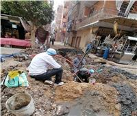 طفحمستمر لمياه الصرف الصحى وتهالك شبكة المياه بشوارع «المنيا»