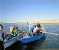 «الثروة السمكية» منح تراخيص لـ 1000 صياد في بحيرة مريوط.. ومراكب النزهة لا تتبع الهيئة