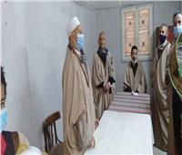 عرض فني لفرقة القوصية للإنشاد الديني بثقافة أسيوط