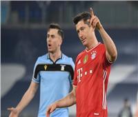 «ليفاندوفسكي» يتجاوز أسطورة ريال مدريد في دوري أبطال أوروبا