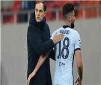 «توخيل» يتغنى بـ«جيرو» بعد الفوز على أتلتيكو مدريد