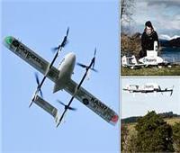 الطائرات بدون طيار تنقل عينات اختبار «Covid-19» والمواد الطبية باسكتلندا
