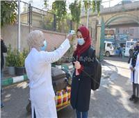 مدن جامعة القاهرة تستقبل طلابها المغتربين والوافدين.. صور