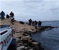 استمرار البحث عن 5 مفقودين من ضحايا مركب بحيرة مريوط
