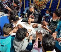 قوافل ثقافية في عزبة أولاد علام بحضور نائب محافظ الجيزة