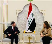 رئيس العامة للاستثمار يبحث في العراق مشروعات التعاون المشترك  صور