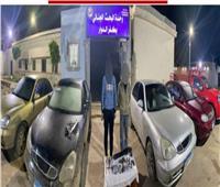 سرقت 4 سيارات.. «عصابة كفر الدوار» في قبضة الشرطة