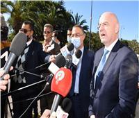 رئيس الفيفا في المغرب.. وانتخابات الكاف على صفيح ساخن