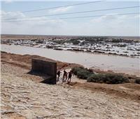 سطوع شمسي في العريش.. وسيول في وسط سيناء