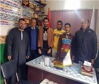 مركز شباب البرشا في المنيا يفوز بمسابقة دينية مسيحية