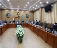محافظ المنوفية يجتمع بـ«نواب البرلمان» لتنفيذ مبادرة «حياة كريمة»
