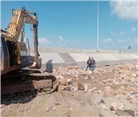 صيانة المنطقة الغربية لمنطقة اللسان براس البر