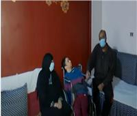 والدة الطفل المصاب بضمور عقلي: شكرا لـ«الرئيس»| فيديو