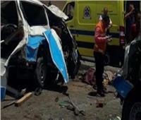 مصرع عامل في حادث تصادم سيارة بالبساتين