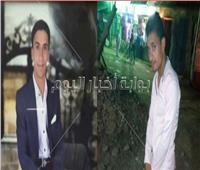 ننشر صورة شابين «أبناء عمومة» لقيا مصرعهما أسفل عجلات القطار