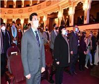 «الشباب والثقافة» يشهدان حفل تكريم فرق «المواجهة والتجوال» بالمسرح القومي