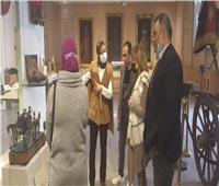 متحف المركبات الملكية يستقبل أعضاء جروب تاريخ أسرة محمد علي |صور