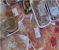 ضبط لحوم وأغذية منتهية الصلاحية في بني سويف
