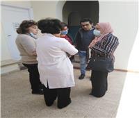 زيارة مفاجئة لوكيل صحة سوهاج لـ«رعاية طفل شرق»