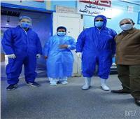 أطباء سوهاج ينجحونفي إجراء قيصرية لسيدةمصابة بكورونا