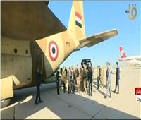 وصول الطائرة المصرية المحملة بمساعدات طبية وغذائية إلى لبنان