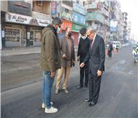 الهجان يطالب بالعمل 24 ساعة لإنجاز أعمال التطوير بالقرى والميادين