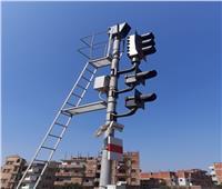 وزير النقل يعلن دخول برج شبلنجة لإشارات السكة الحديد الخدمة