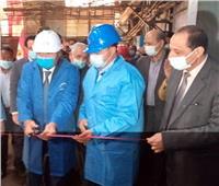 وزير التموين ومحافظ أسوان يتفقدان مشروعات تطوير مصنع السكر ومطحن إدفو