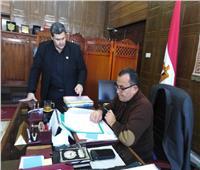 نائب محافظ شمال سيناء يناقش استعدادات المدارس للامتحانات