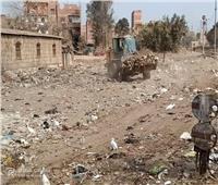 رفع 195 طن قمامة من قرى شبين الكوم