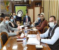 محافظ المنوفية يجتمع مع مؤسسة حياة كريمة لتنفيذ المبادرة الرئاسية بالقرى