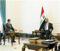 رئيس هيئة الاستثمار يلتقي رئيس الوزراء العراقي في ختام زيارته إلى بغداد