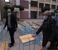 «تعليم القليوبية» يتابع استعداد المدارس لـ«امتحانات الترم الأول»