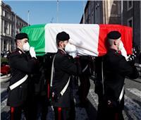 جنازة رسمية للسفير الايطالي المقتول في الكونغو | صور
