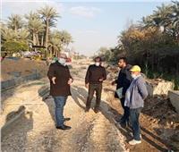 صور| نائب محافظ الجيزة يتفقد أعمال رفع تجمعات مياه الأَمطار