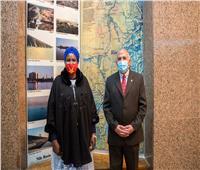 «عبد العاطي» يستقبل وزيرة الثقافة والمتاحف والتراث بدولة جنوب السودان