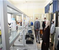 جامعة سوهاج تفتتح 4 معامل بحثية جديدة بكلية العلوم