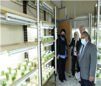 تأهيل المعامل والوحدات البحثية والمختبرات بجامعة أسيوط