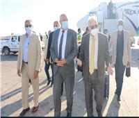 القصير يصل جنوب سيناء لتفقد عدد من المشروعات الزراعية | صور