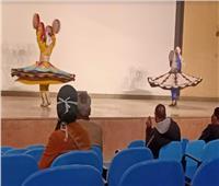 «العصا والتنورة و الحجالة».. عروض فنية على مسرح قصر ثقافة أسيوط
