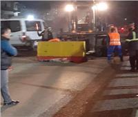 محافظ القليوبية يوجه برفع «النيوجرسي» من طريق مصر إسكندرية الزراعي