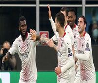 ميلان يتأهل بصعوبة لثمن نهائي الدوري الأوروبي