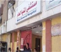 خروج 4 مصابين من مستشفى المنيا العام بعد تماثلهم للشفاء
