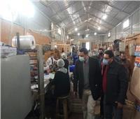 صحة المنوفية: حملة تفتيشية موسعة على مصنع لإنتاج العصائر بشبين الكوم