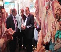 حملات مكثفة على محلات بيع اللحوم في بني سويف