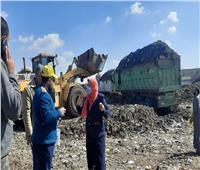 رفع 5 آلاف طن تراكمات للقمامة بمركز أشمون